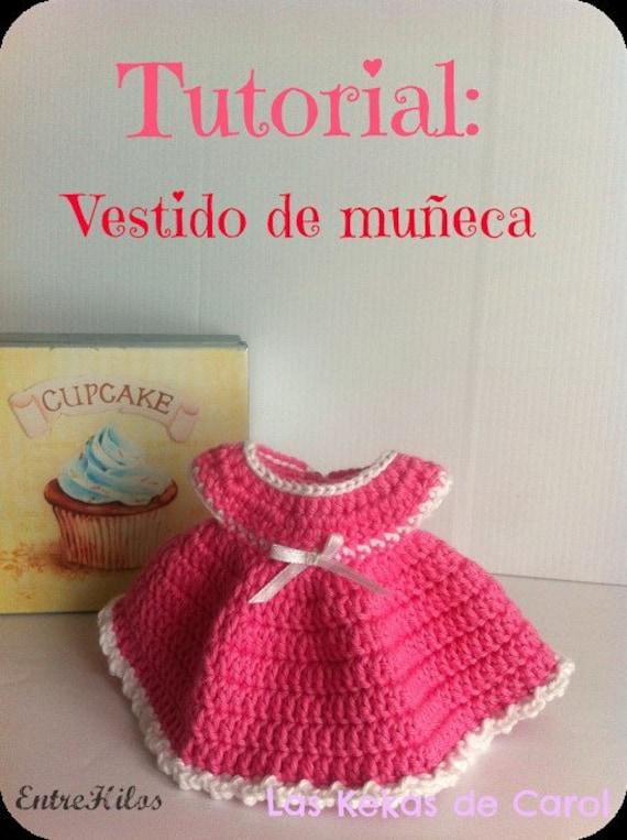 Tutorial Como Hacer Vestido De Muñeca De Crochet