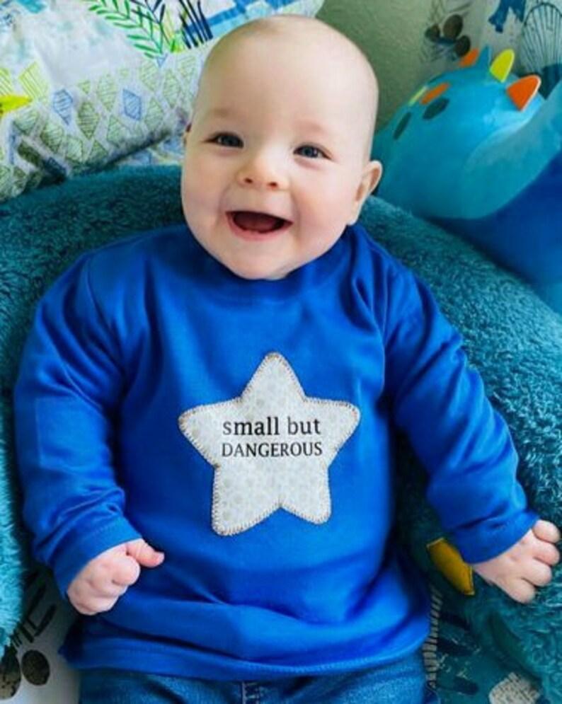 Small but Dangerous Long sleeve Baby T-shirt