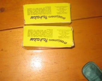 2 vtg Magic CUbe flashcubes unused two boxes of three 12 shots per box free ship by Kamareo