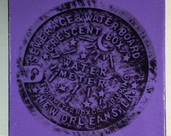 Water Meter Purple