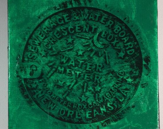 Water Meter Green