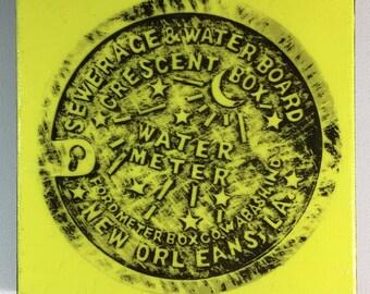 Water Meter Vivid Yellow