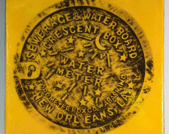Water Meter Mixed Yellow