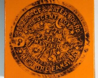Water Meter Orange
