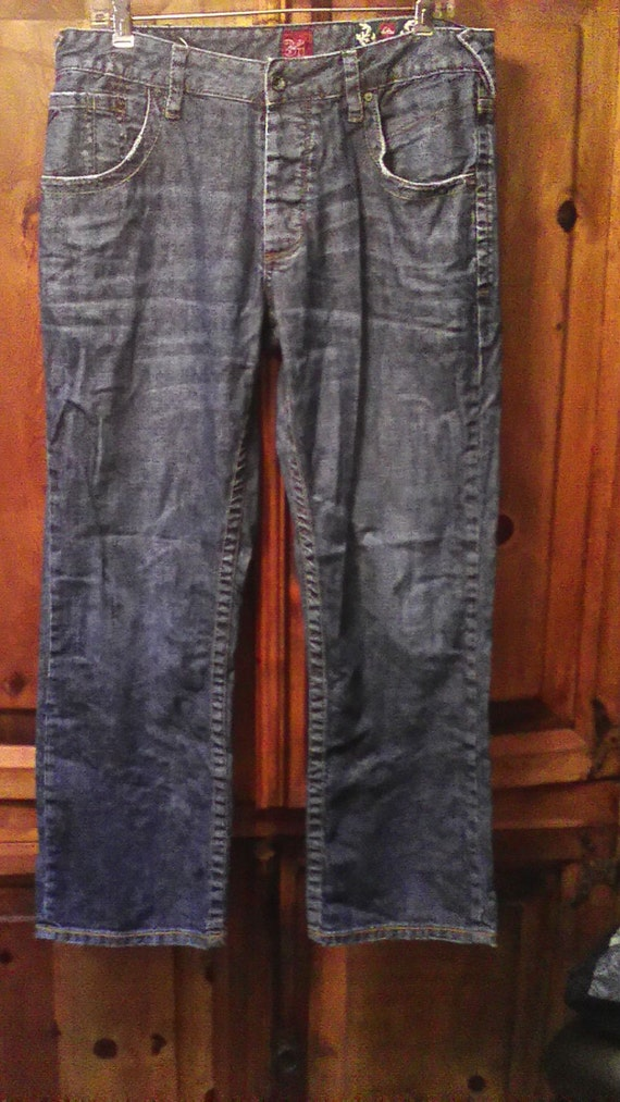 NWOT 90S Quicksilver Reese Forbes  Skater Jeans Si
