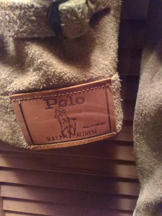80s Ralph Lauren Suede Jacket Size M - image 4