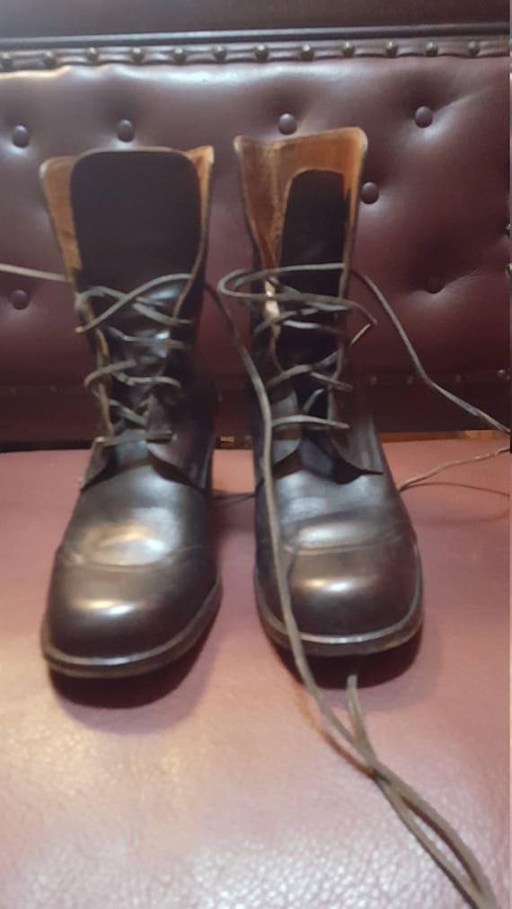 Des années 90 femmes femmes femmes suppose que George Marciano Boots taille 39,5 vendu tel quel 4e1c92