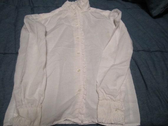 Vintage 1980's Ralph Lauren  Girls Cotton Blouse … - image 1