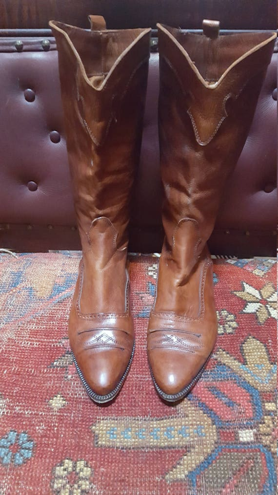 90s Women's Joan And David Boots Size 40 Made In I
