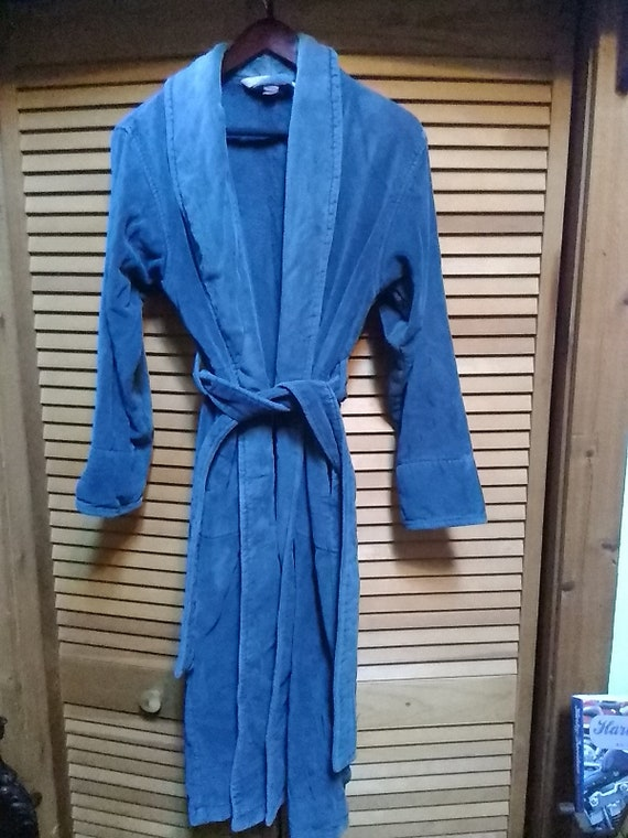Women's VSC Terry Cloth Belted Robe Size XS