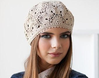 1b9a8b2953c CROCHET HAT PATTERN Pattern pdf Patterns berets Crochet cap pattern Pattern  beret Summer hats pattern Crochet pattern Beanie pattern