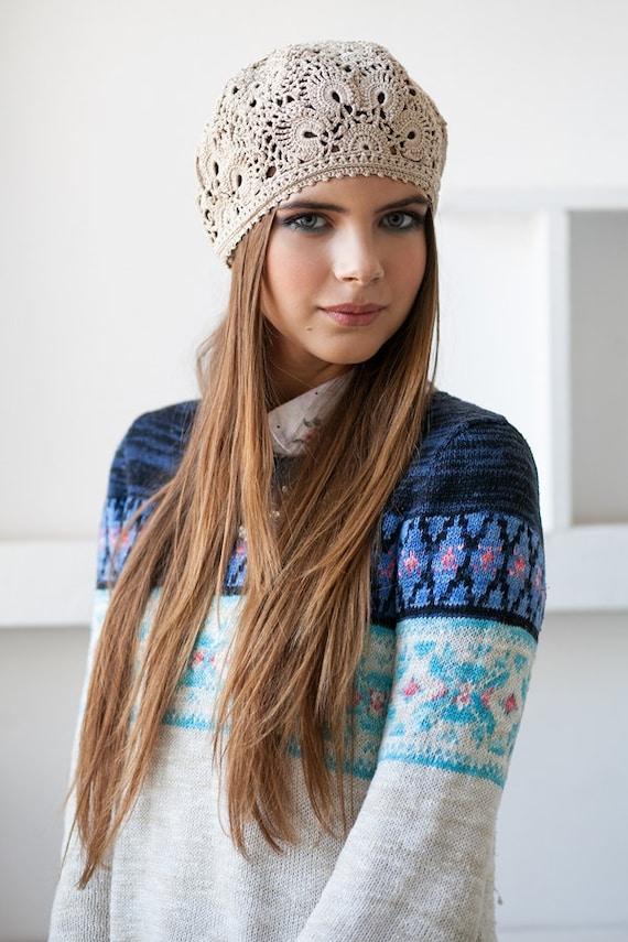 Damen Hut Hüte Für Frauen Häkeln Hut Sommer Hut Spitze Mützen Etsy
