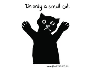 I'm only a small cat Nightgown