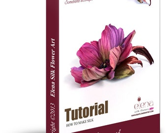 How to make silk rose using professional flower making tools etsy tutorial how to make silk brooch margaret using genuine professional tools pdf ebook mightylinksfo