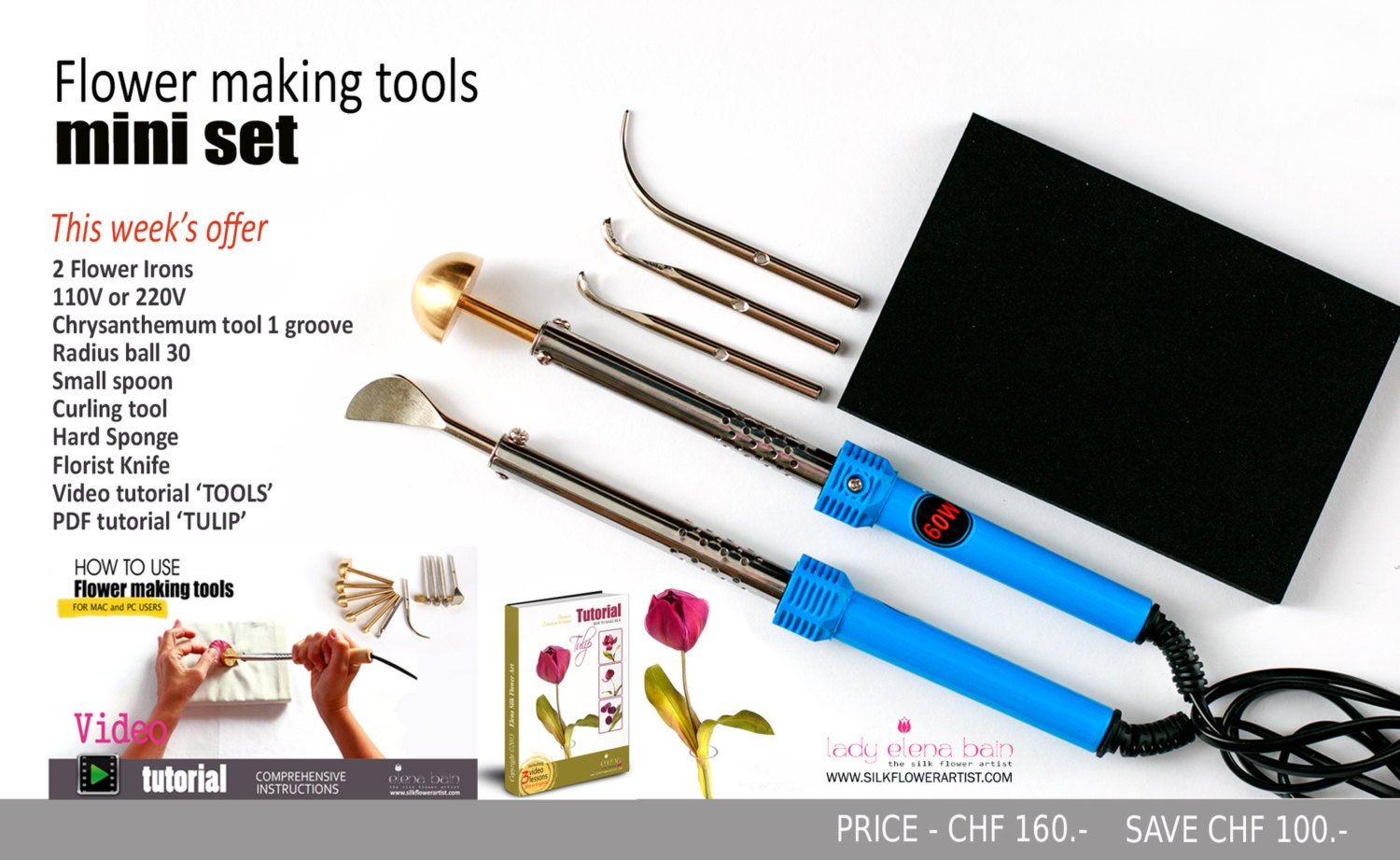 Mini Set Genuine Flower Making Tools Etsy