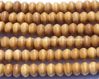 20 beads - 9mm Size Tibetan Bone Beads - 9mm Size Bone Beads - Mala Making Supplies - LPB114-20