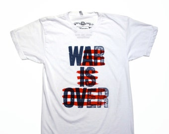 OVERRATED hand screen printed t-shirt