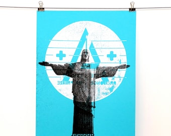 ONE ANOTHER hand pulled screen print