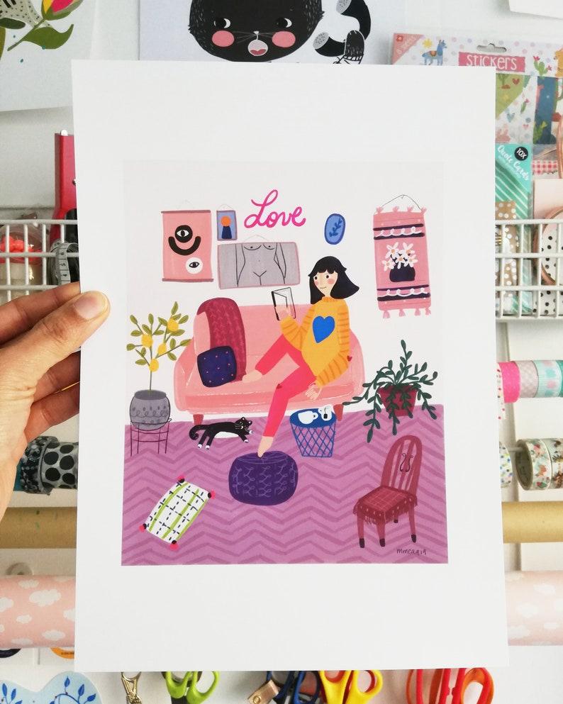 Print-Le Salon image 0