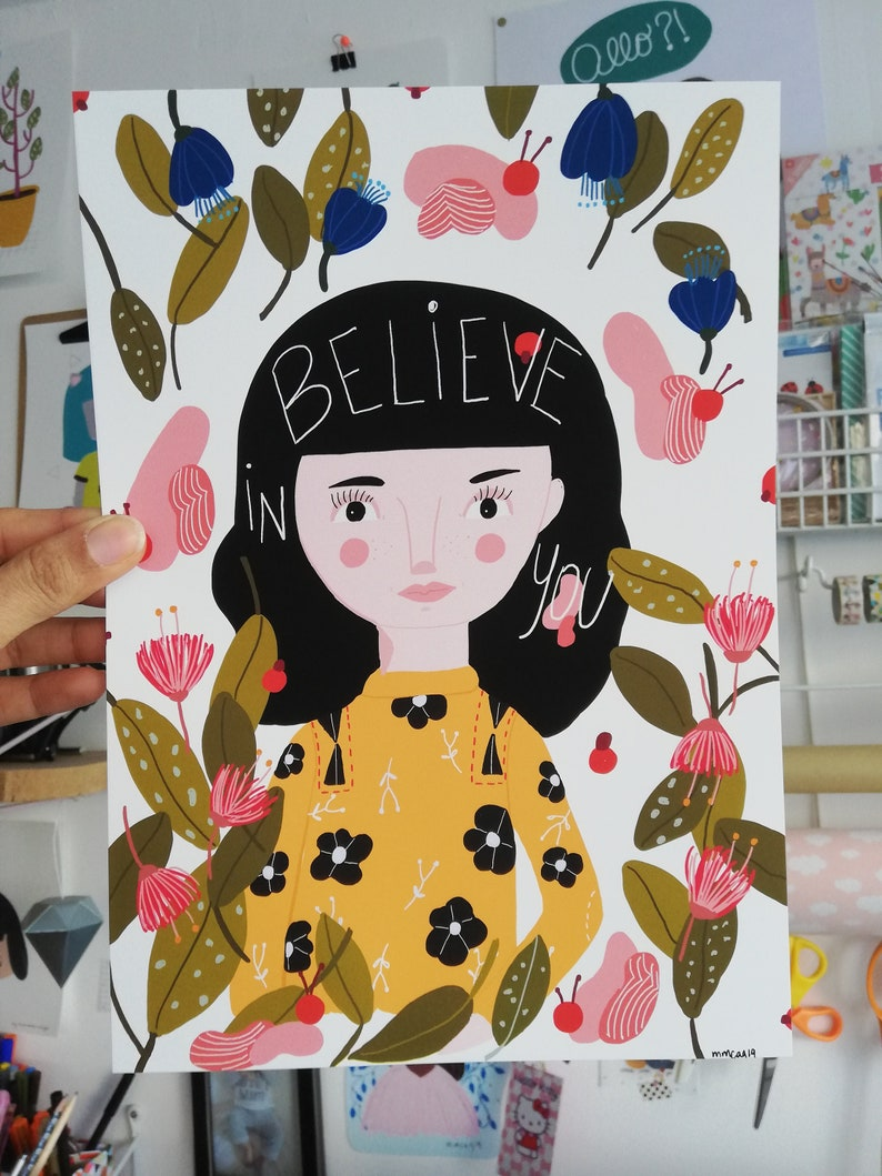 Print  Believe in you  image 0