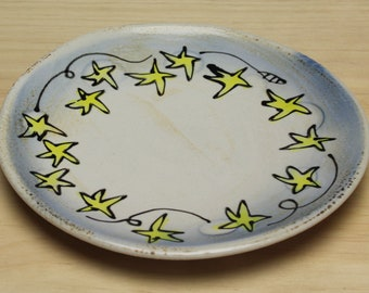 Small Starry Plate - variety of designs