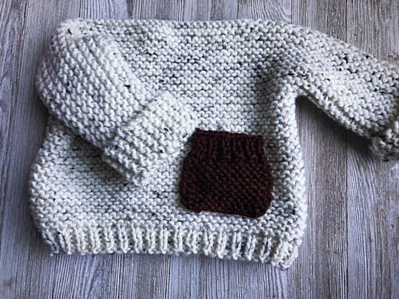 Kids sweater knit pattern beginner knitting pattern Knitted pattern Easy Baby Knit Top Modern baby knitting pattern Bulky knit