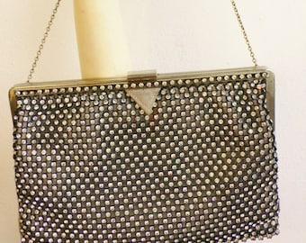 Vintage 1950s bag evening bag diamante provenance Indian aristocrat