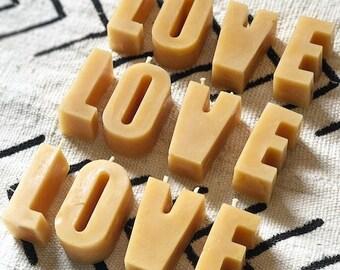 Letters/Alphabet Candles