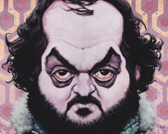 Stanley Kubrick - The Shining  - 39cm x 32cm signed art print