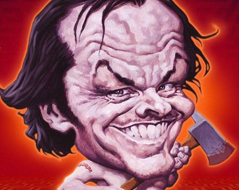 All Work And No Pants Makes Jack A Dull Boy! - 42cm x 30cm signed art print