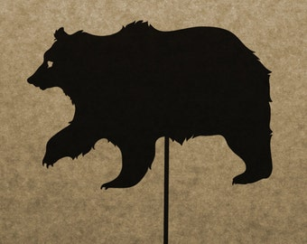 DIY Bear Shadow PUppet Pattern (DOWNLOAD)