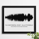 Custom Sound Wave Poster, Mother's Day Gift, Song into Sound wave, Song Waveform, Song Sound Wave Art, Anniversary Gift Men, Gift for Him