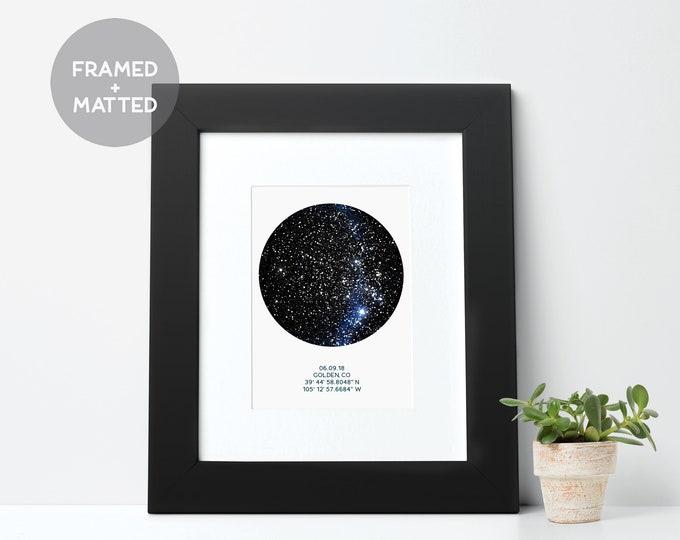 framed star maps