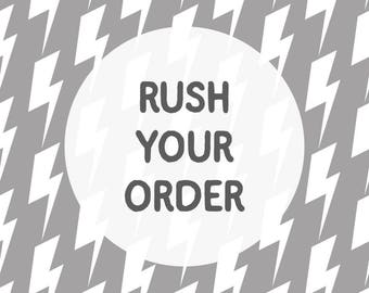 Rush Your Order - Ships in 1 business day via USPS Priority Mail - Please Read Details Carefully