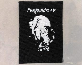 Pumpkinhead canvas patch