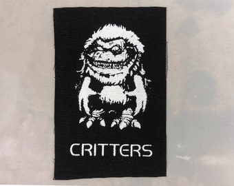 Critters canvas patch