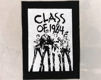 Class Of 1984 canvas patch