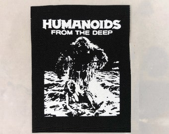 Humanoids From The Deep canvas patch