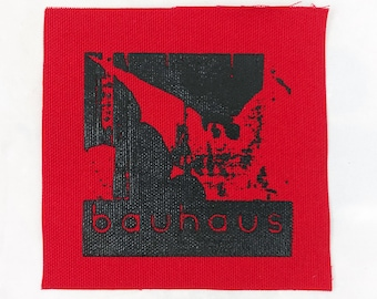 Bela Lugosi's Dead canvas patch