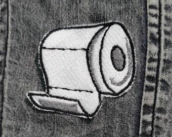 Toilet Paper Shortage 2020 Survival Sew on Patch