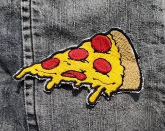 Gooey Pizza Slice Sew on Patch