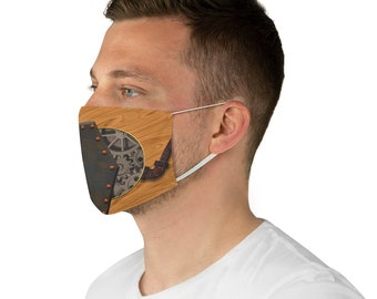 Steampunk Fabric Face Mask