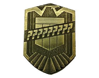 Custom Dredd Badge