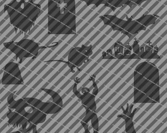 Halloween Themed SVG files for laser cutting/cricut machine