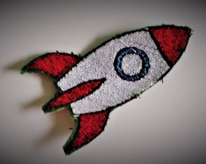 Baby Syfy Rocket Machine Embroidery File Instant Download