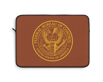 Control Game Inspired Federal Bureau of Control Laptop Sleeve