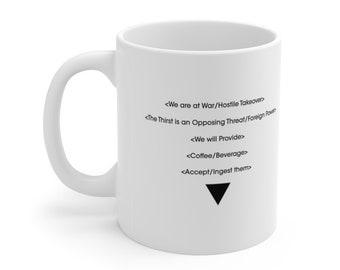 Control Inspired The Board Coffee Quote Mug
