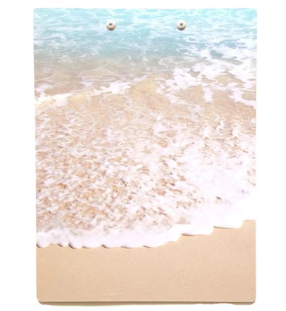 Ocean Waves Clipboard Beach Print Clipboard for Home   Etsy