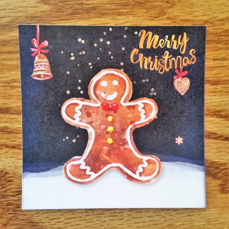 angel christmas card flat blank holiday cards cute
