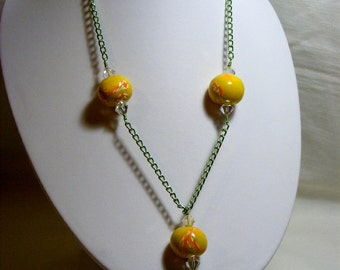 Polymer Chain Necklace